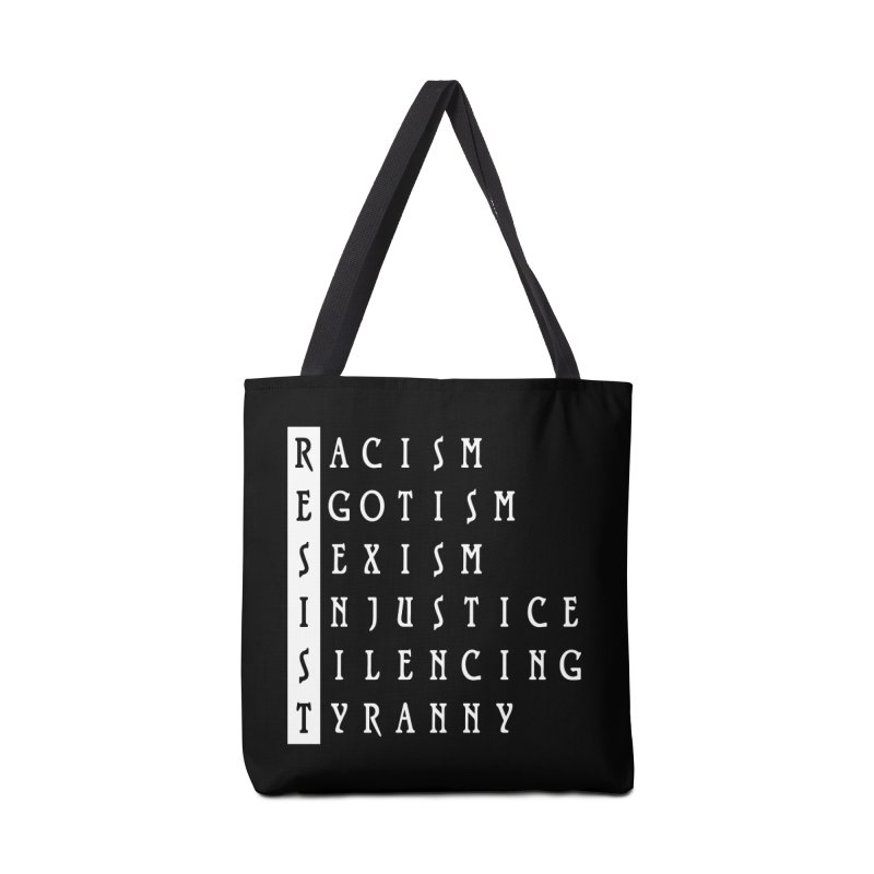 Resist Accessories Bag by Flaming Imp's Artist Shop