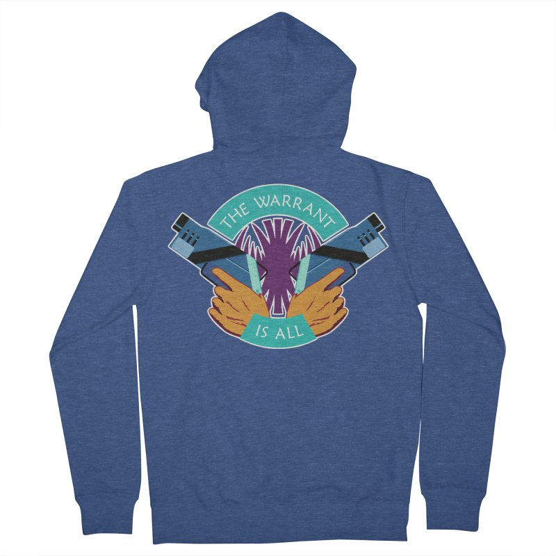 Killjoys The Warrant Is All Men's Zip-Up Hoody by Flaming Imp's Artist Shop