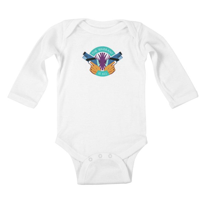Killjoys The Warrant Is All Kids Baby Longsleeve Bodysuit by Flaming Imp's Artist Shop