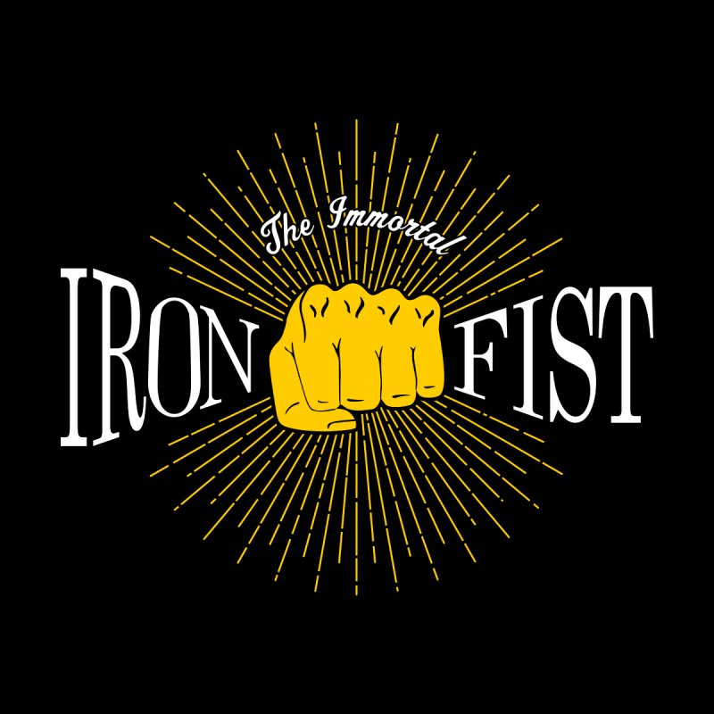The Immortal Iron Fist Vintage None  by Flaming Imp's Artist Shop