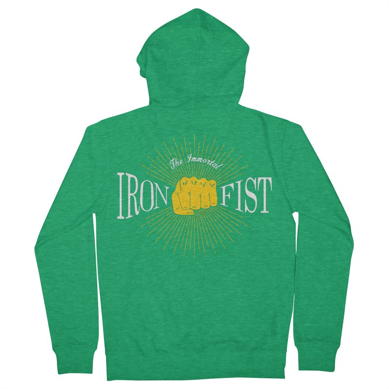 The Immortal Iron Fist Vintage Women's Zip-Up Hoody by Flaming Imp's Artist Shop