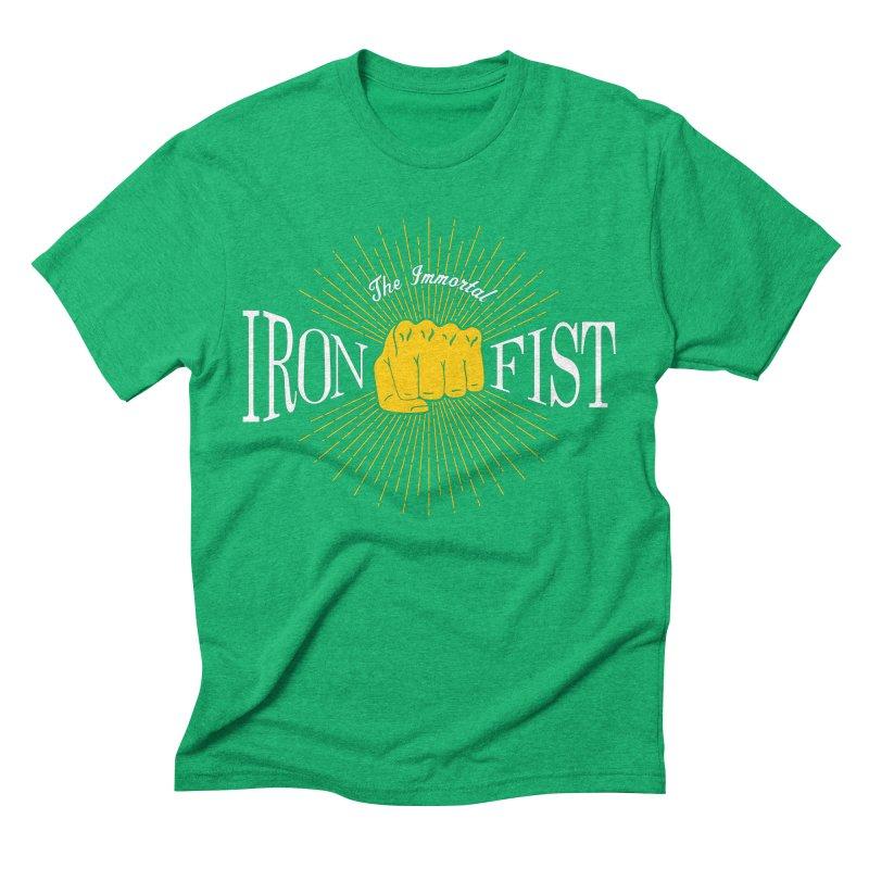 The Immortal Iron Fist Vintage Men's Triblend T-Shirt by Flaming Imp's Artist Shop