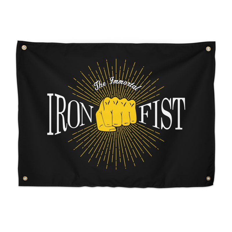 The Immortal Iron Fist Vintage Home Tapestry by Flaming Imp's Artist Shop