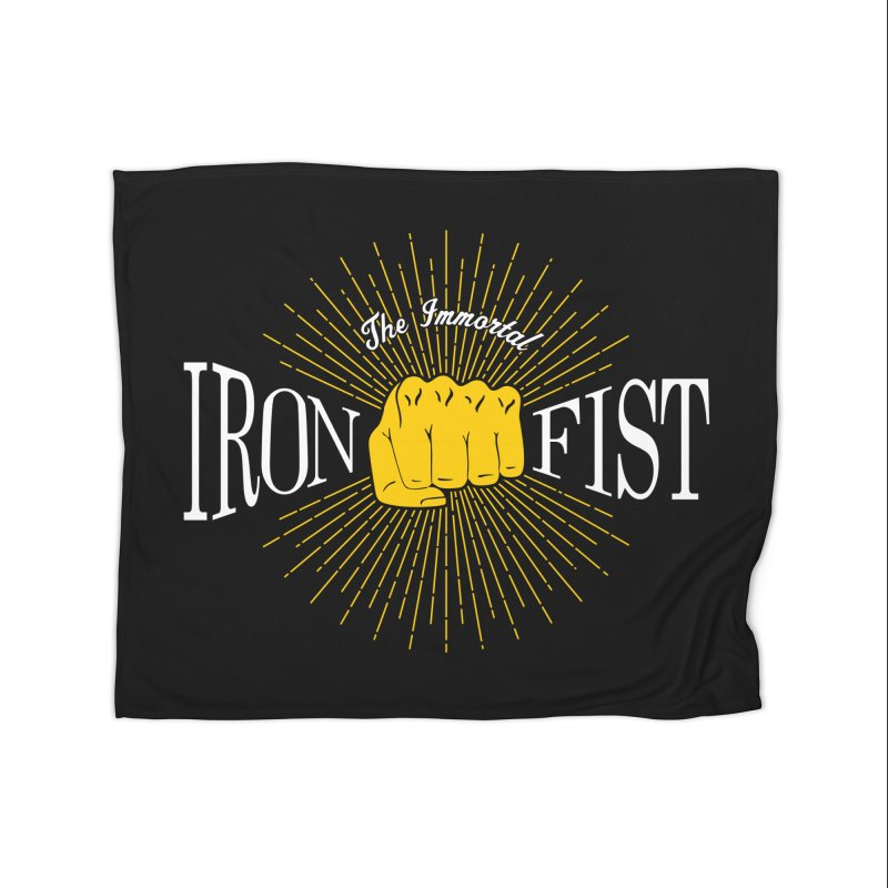 The Immortal Iron Fist Vintage Home Blanket by Flaming Imp's Artist Shop
