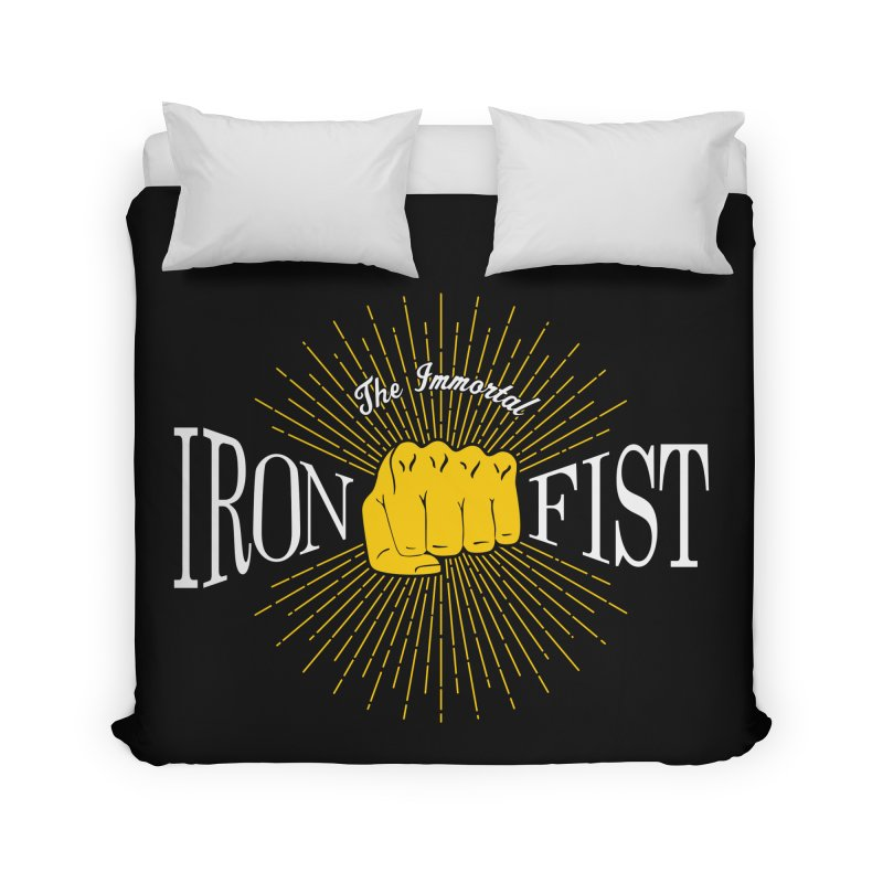 The Immortal Iron Fist Vintage Home Duvet by Flaming Imp's Artist Shop