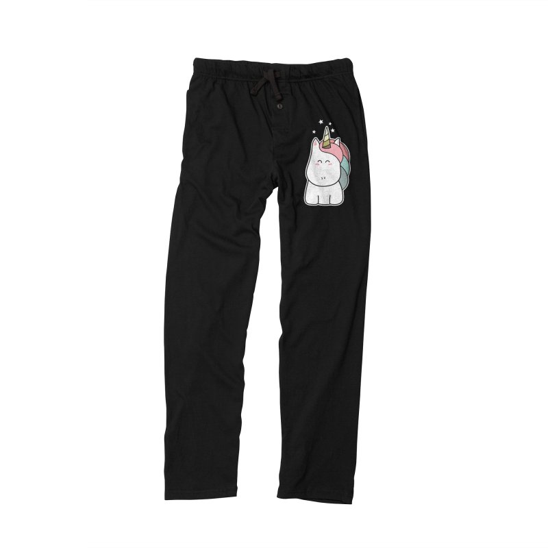 Cute Kawaii Unicorn Women's Lounge Pants by Flaming Imp's Artist Shop