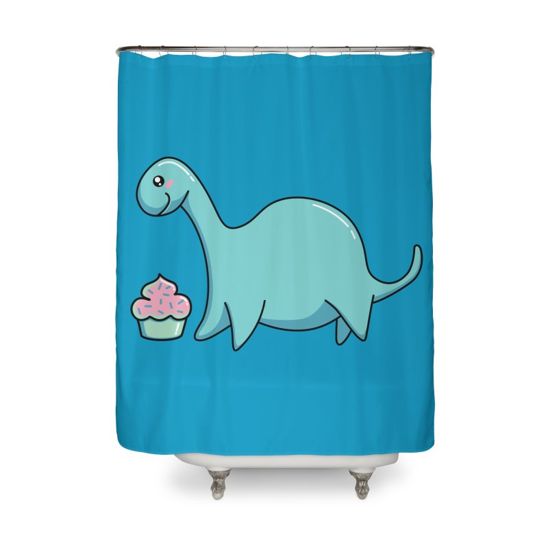 Happiness Home Shower Curtain by Flaming Imp's Artist Shop