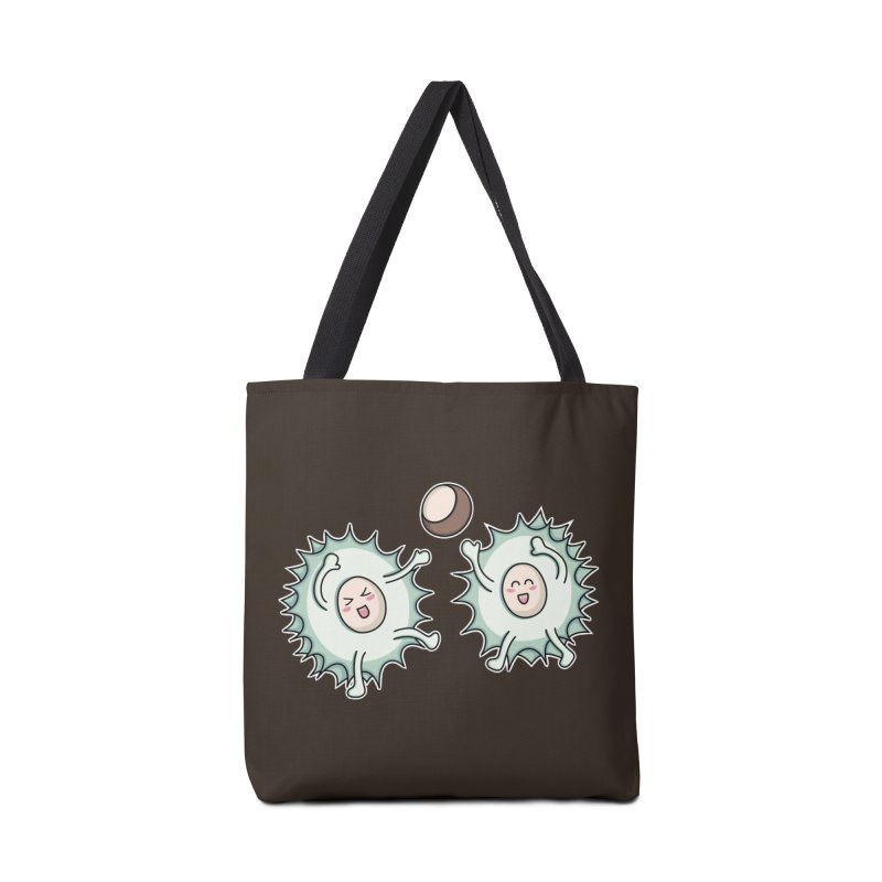 Kawaii Cute Horse Chestnut Playing Accessories Bag by Flaming Imp's Artist Shop