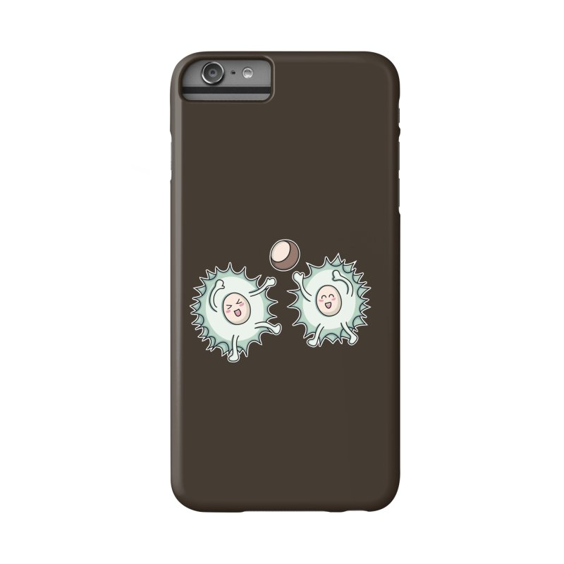 Kawaii Cute Horse Chestnut Playing Accessories Phone Case by Flaming Imp's Artist Shop
