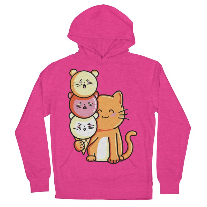 Cat and micecream Women's Pullover Hoody by Flaming Imp's Artist Shop