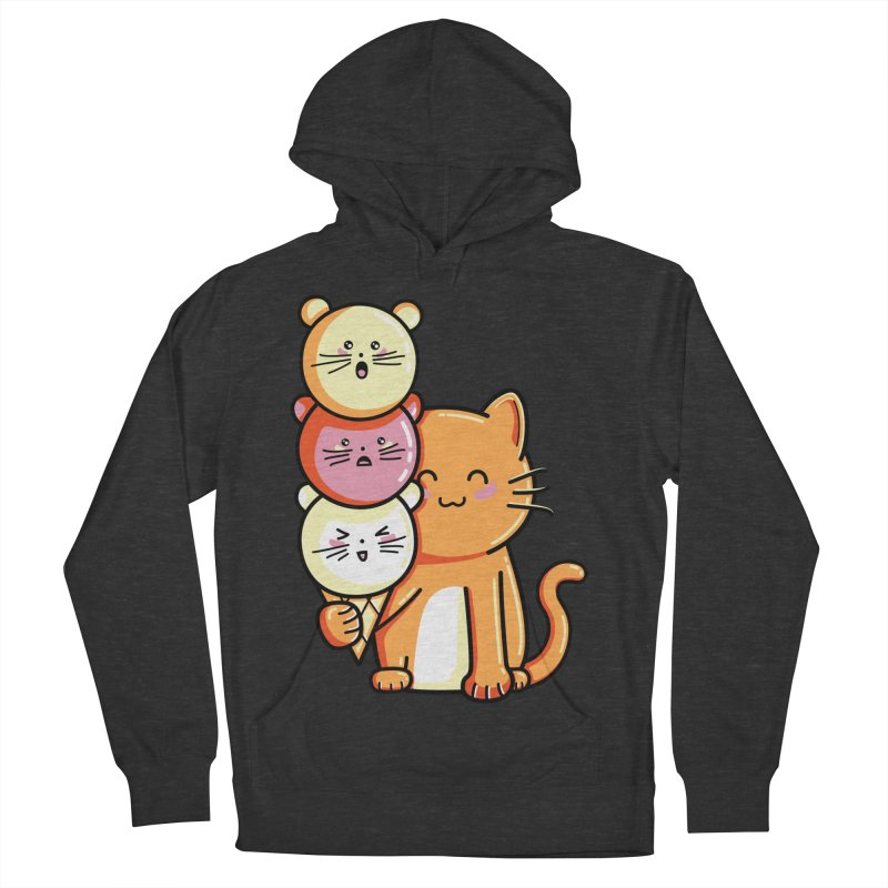 Cat and micecream Men's Pullover Hoody by Flaming Imp's Artist Shop
