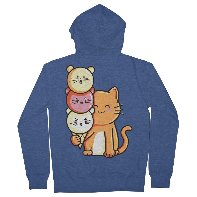 Cat and micecream Women's Zip-Up Hoody by Flaming Imp's Artist Shop