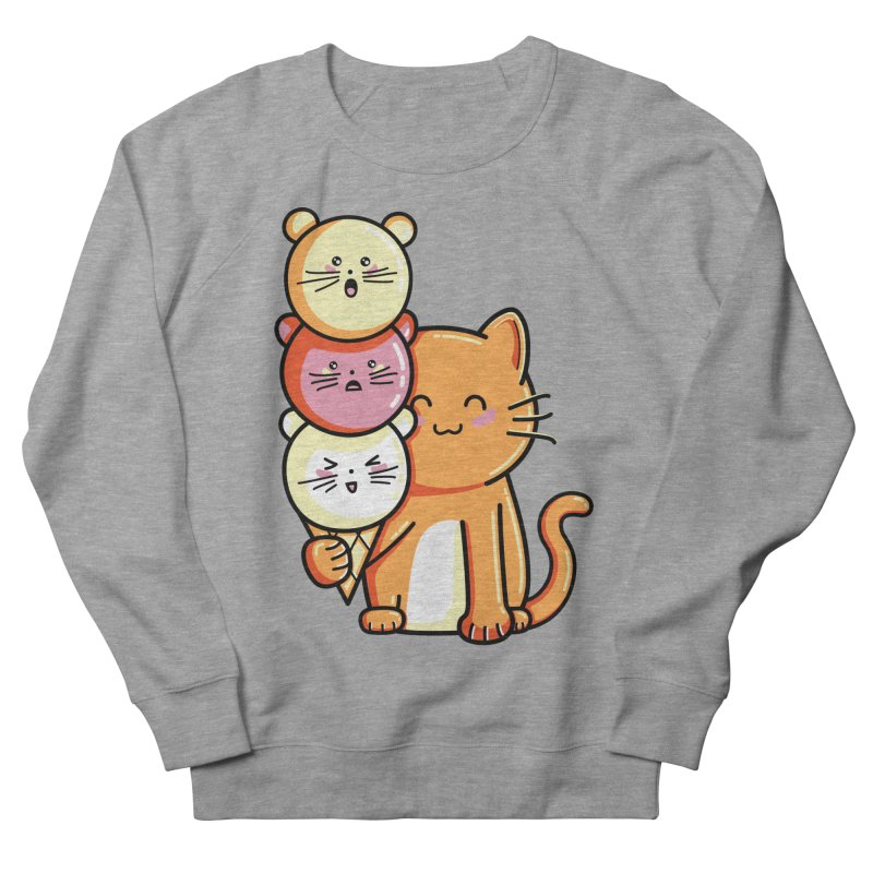 Cat and micecream Women's Sweatshirt by Flaming Imp's Artist Shop