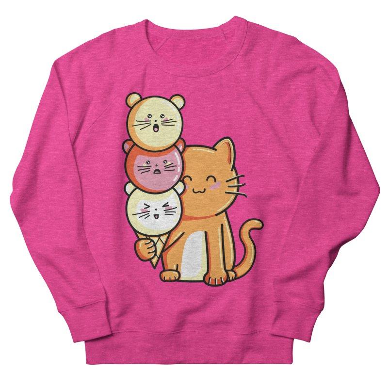 Cat and micecream Men's Sweatshirt by Flaming Imp's Artist Shop