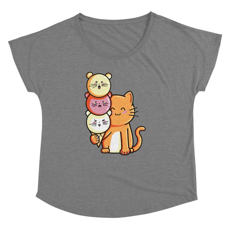 Cat and micecream Women's Dolman by Flaming Imp's Artist Shop