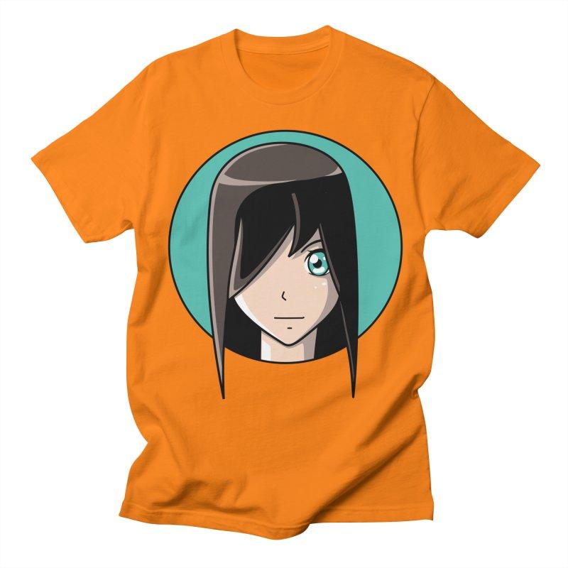 Anime Girl Men's T-Shirt by Flaming Imp's Artist Shop