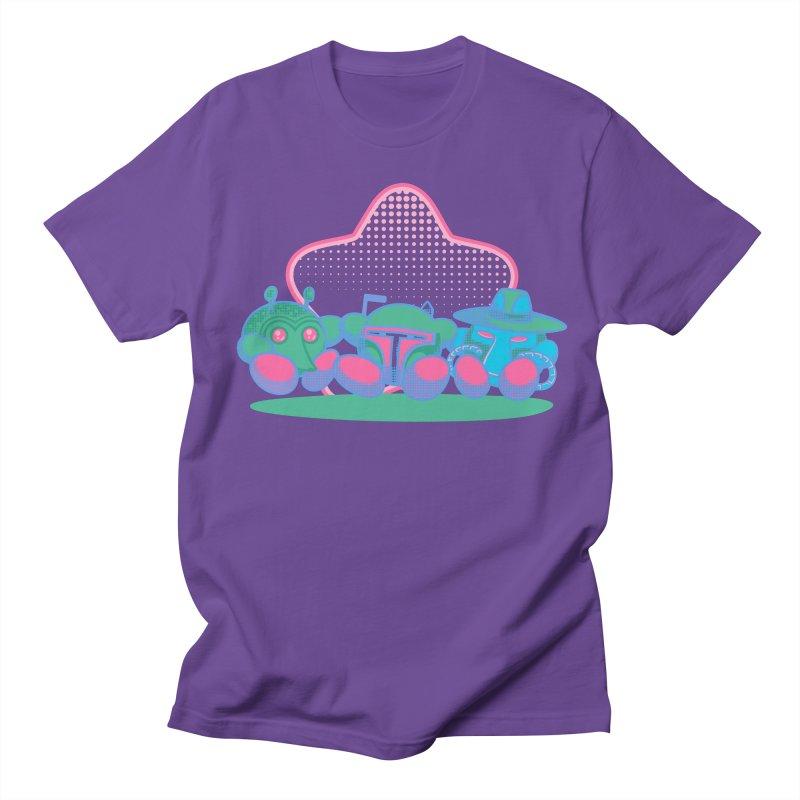 Bounty Hunter Star Friends Women's Regular Unisex T-Shirt by Flaming Imp's Artist Shop