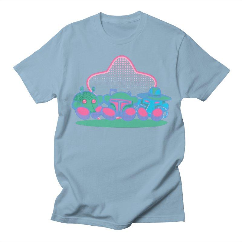 Bounty Hunter Star Friends Women's Unisex T-Shirt by Flaming Imp's Artist Shop