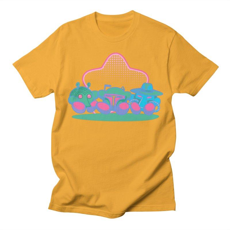 Bounty Hunter Star Friends Men's T-Shirt by Flaming Imp's Artist Shop