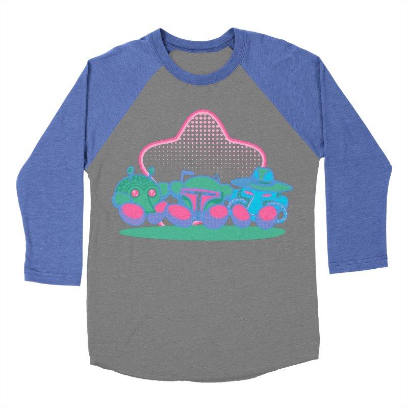 Bounty Hunter Star Friends Women's Baseball Triblend T-Shirt by Flaming Imp's Artist Shop