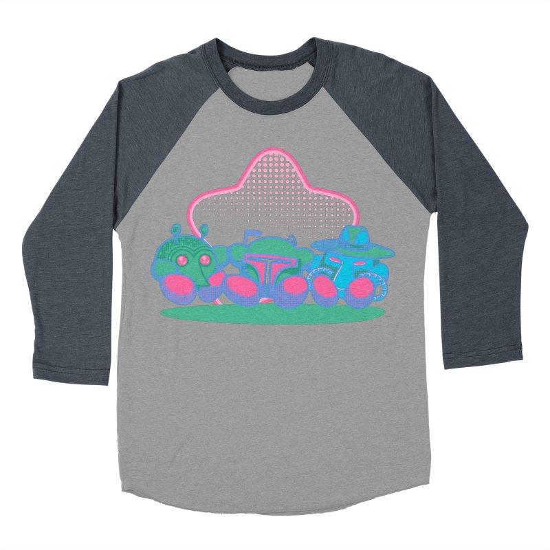 Bounty Hunter Star Friends Women's Baseball Triblend Longsleeve T-Shirt by Flaming Imp's Artist Shop