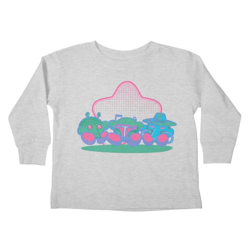 Bounty Hunter Star Friends Kids Toddler Longsleeve T-Shirt by Flaming Imp's Artist Shop