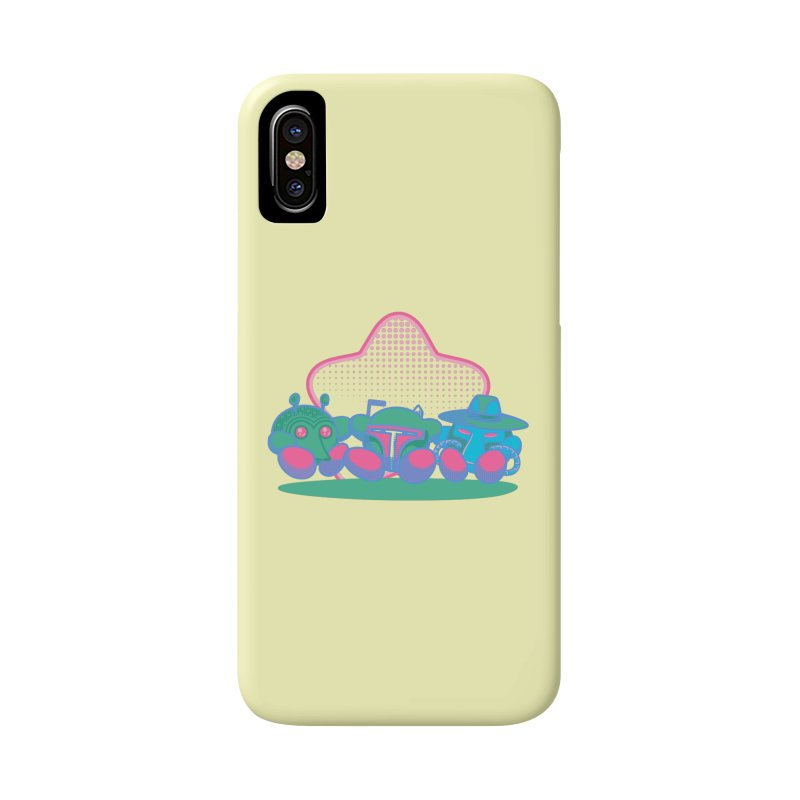 Bounty Hunter Star Friends Accessories Phone Case by Flaming Imp's Artist Shop