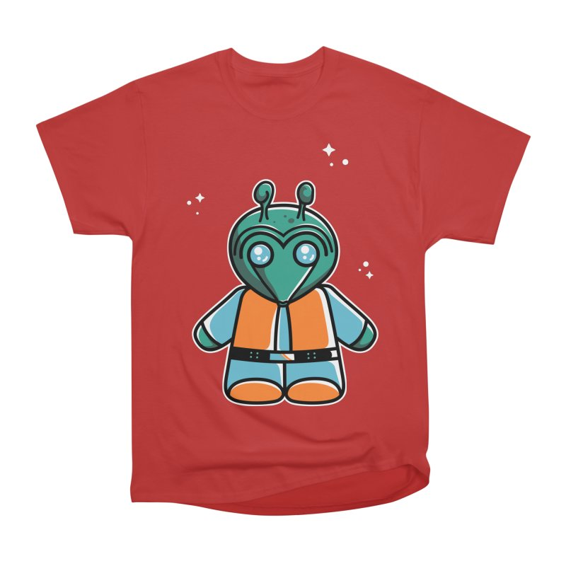 Greedo Cute Women's Heavyweight Unisex T-Shirt by Flaming Imp's Artist Shop
