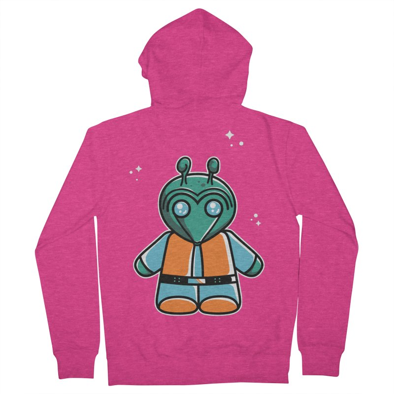 Greedo Cute Women's Zip-Up Hoody by Flaming Imp's Artist Shop