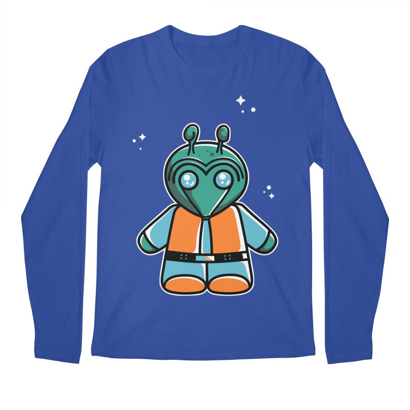 Greedo Cute Men's Regular Longsleeve T-Shirt by Flaming Imp's Artist Shop