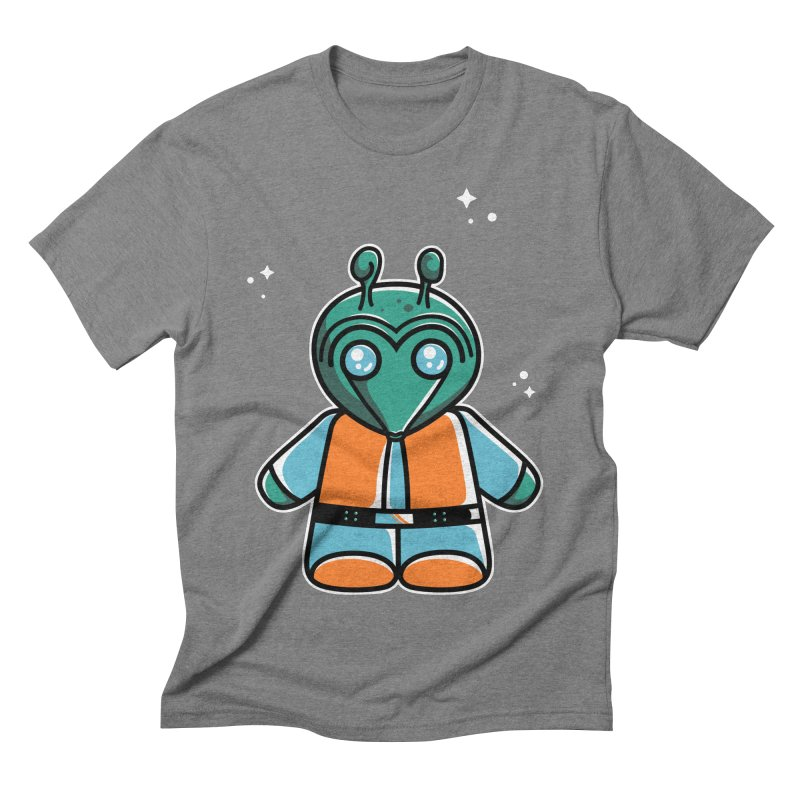 Greedo Cute Men's Triblend T-Shirt by Flaming Imp's Artist Shop