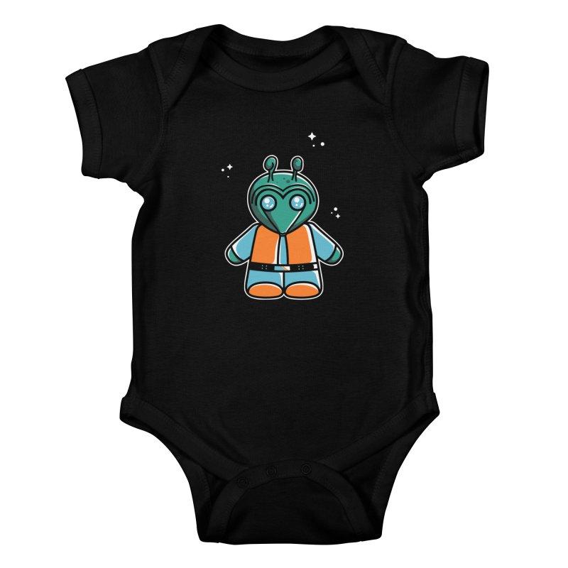 Greedo Cute Kids Baby Bodysuit by Flaming Imp's Artist Shop
