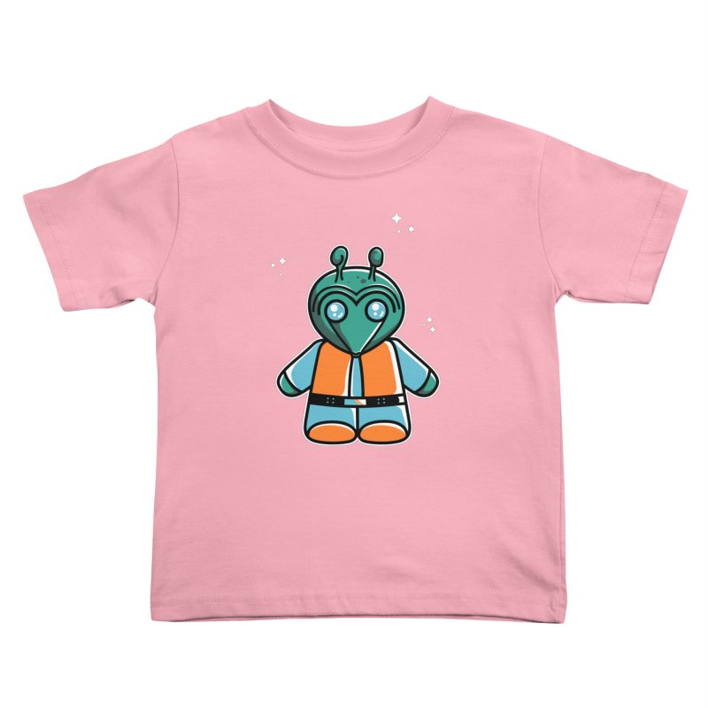 Greedo Cute Kids Toddler T-Shirt by Flaming Imp's Artist Shop