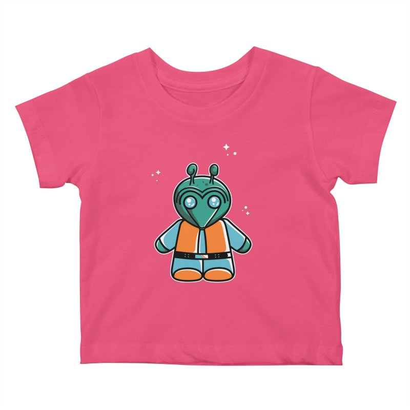 Greedo Cute Kids Baby T-Shirt by Flaming Imp's Artist Shop