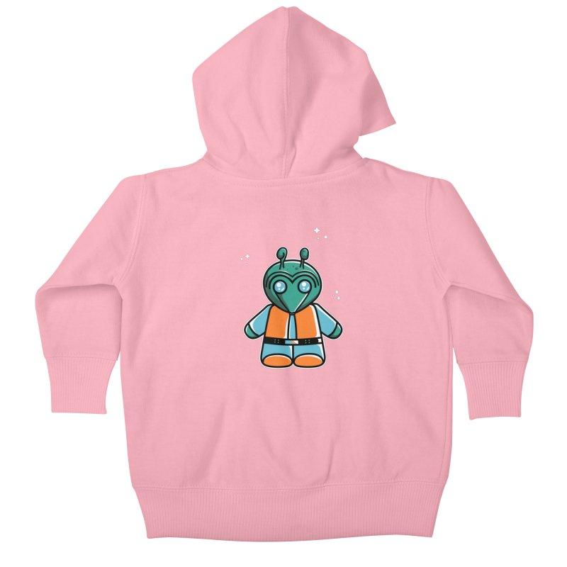 Greedo Cute Kids Baby Zip-Up Hoody by Flaming Imp's Artist Shop