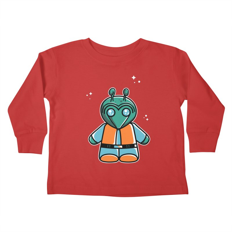 Greedo Cute Kids Toddler Longsleeve T-Shirt by Flaming Imp's Artist Shop