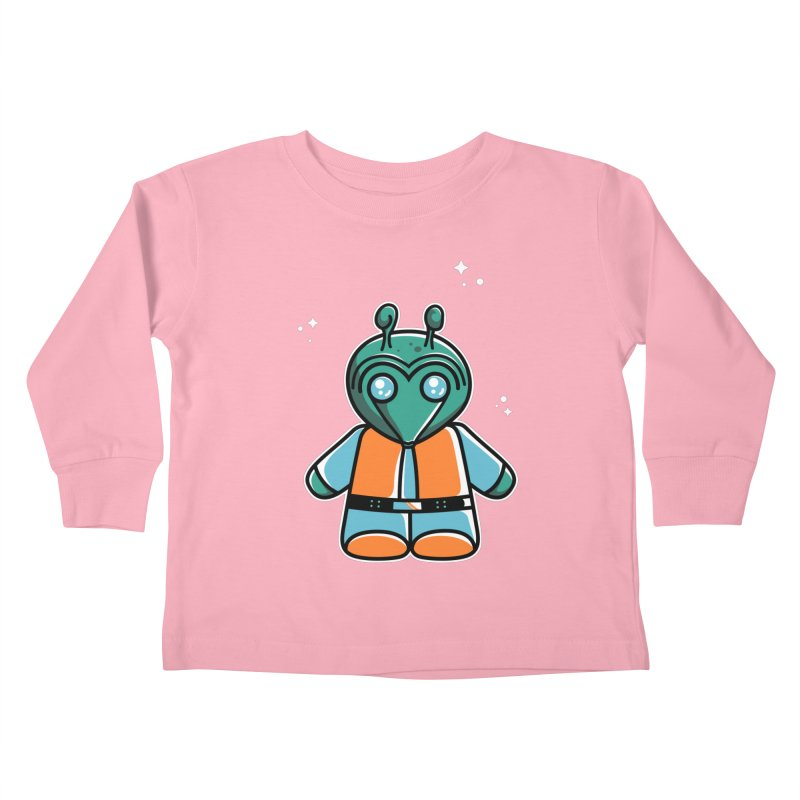 Greedo Cute Kids Toddler Longsleeve T-Shirt by Flaming Imp's Artist Shop