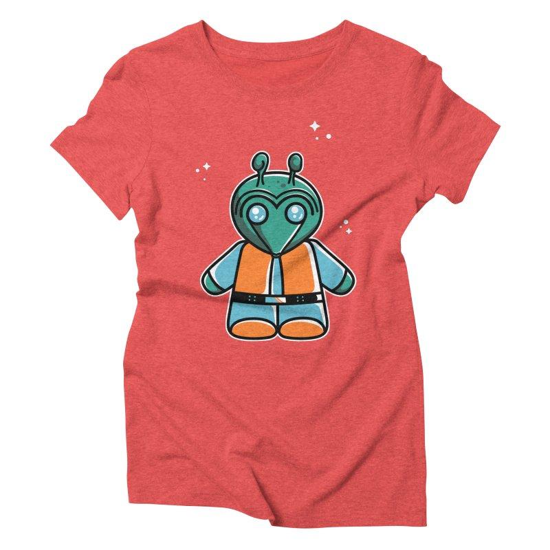 Greedo Cute Women's Triblend T-Shirt by Flaming Imp's Artist Shop