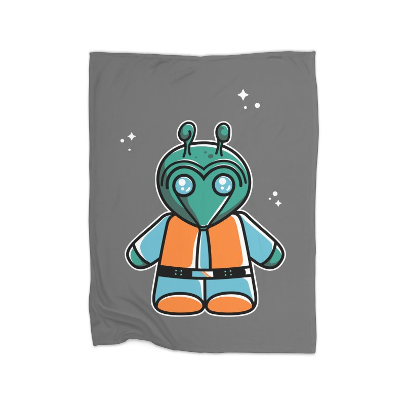 Greedo Cute Home Blanket by Flaming Imp's Artist Shop