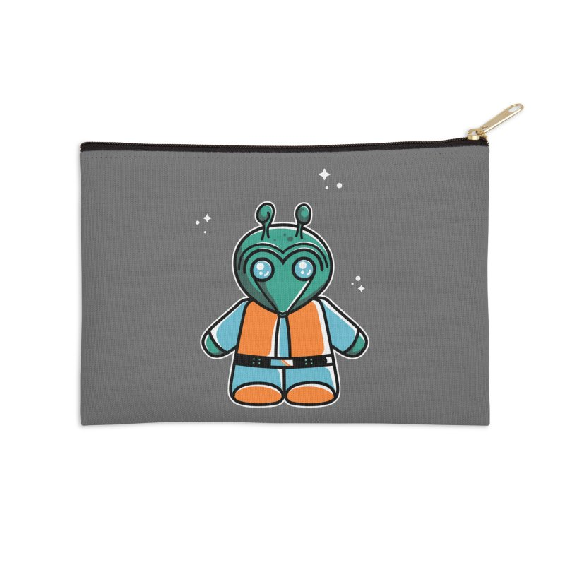 Greedo Cute Accessories Zip Pouch by Flaming Imp's Artist Shop