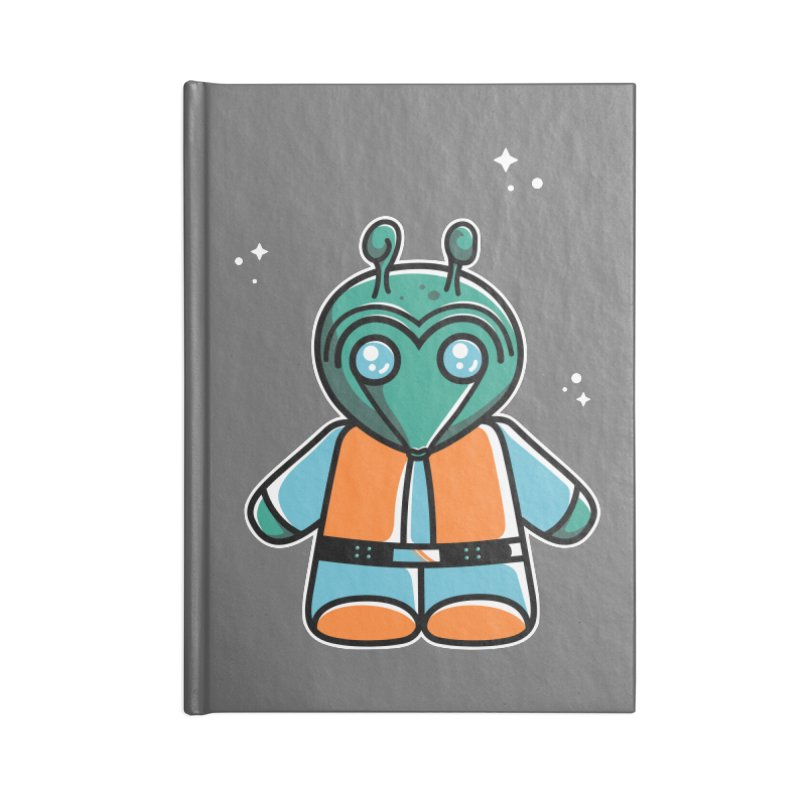 Greedo Cute Accessories Notebook by Flaming Imp's Artist Shop