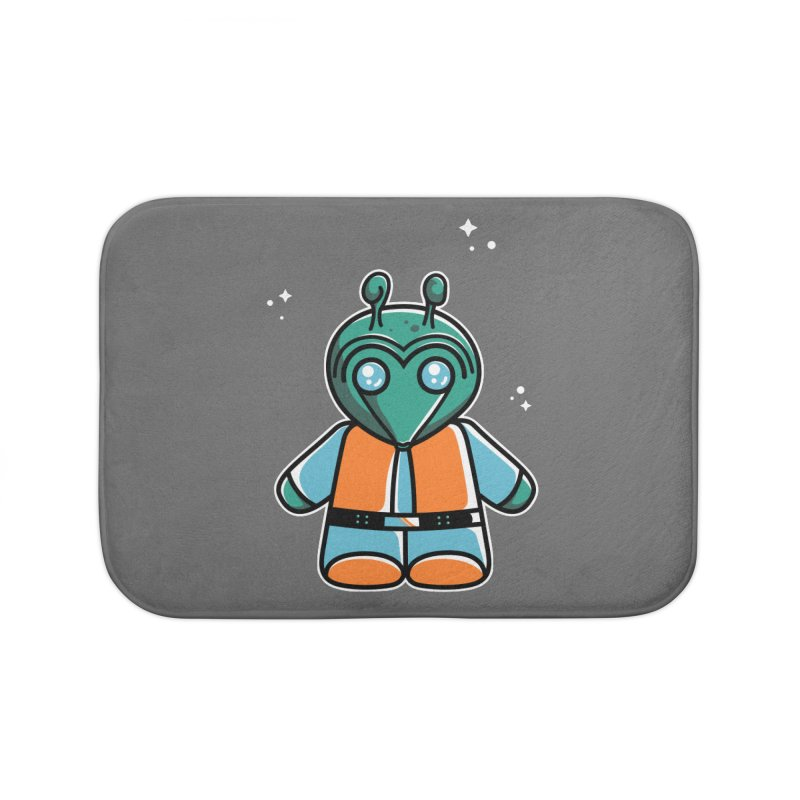 Greedo Cute Home Bath Mat by Flaming Imp's Artist Shop