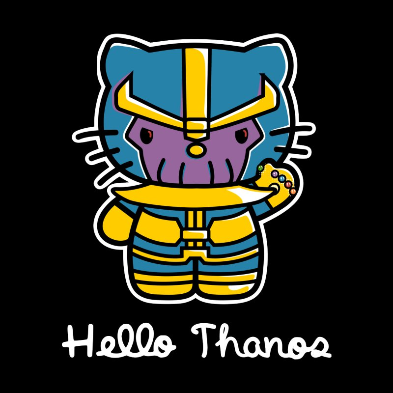 Hello Thanos   by Flaming Imp's Artist Shop