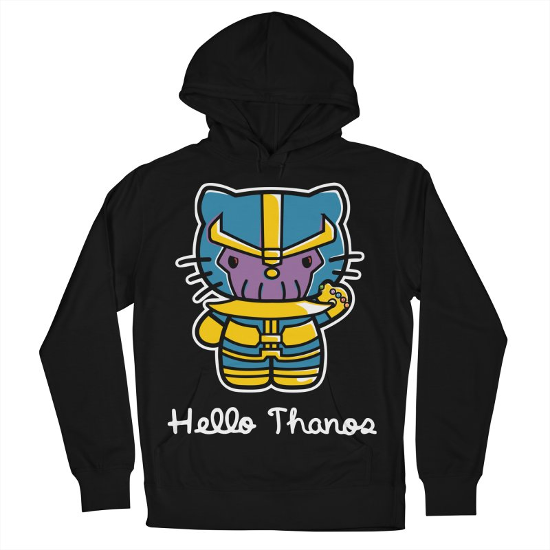 Hello Thanos Women's French Terry Pullover Hoody by Flaming Imp's Artist Shop