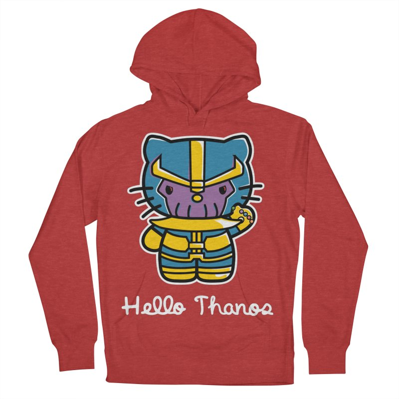 Hello Thanos Men's Pullover Hoody by Flaming Imp's Artist Shop