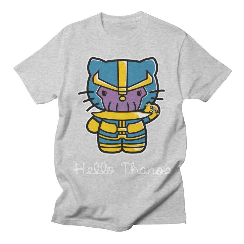 Hello Thanos Women's Unisex T-Shirt by Flaming Imp's Artist Shop