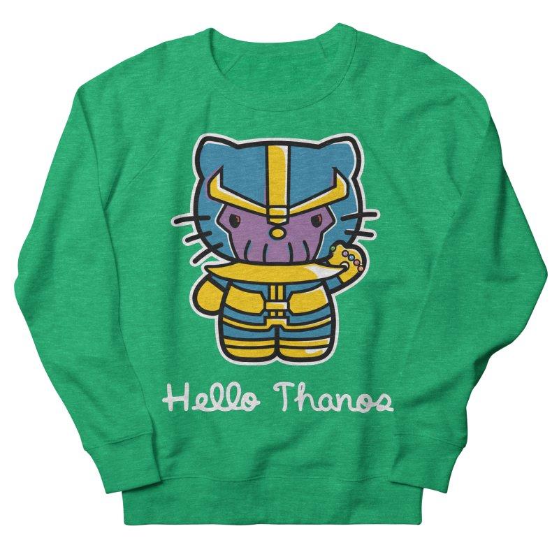 Hello Thanos Men's Sweatshirt by Flaming Imp's Artist Shop