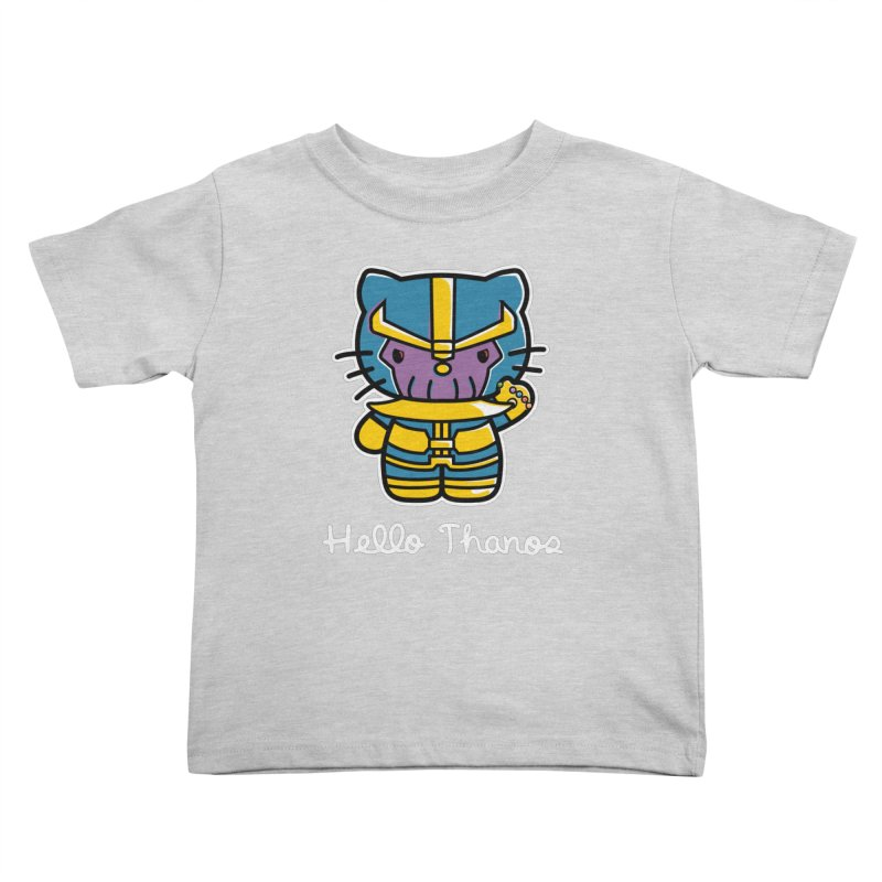 Hello Thanos Kids Toddler T-Shirt by Flaming Imp's Artist Shop