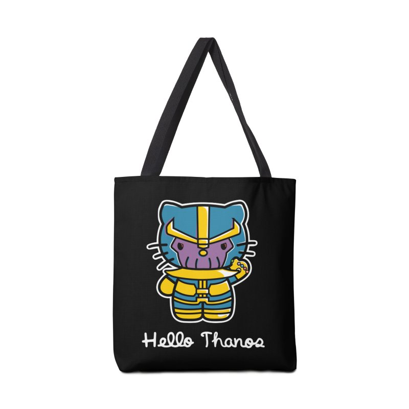 Hello Thanos Accessories Bag by Flaming Imp's Artist Shop