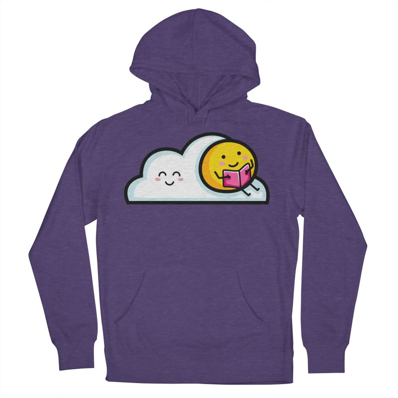 Love Summer Reading Women's French Terry Pullover Hoody by Flaming Imp's Artist Shop